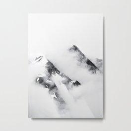 Morning Peaks Metal Print