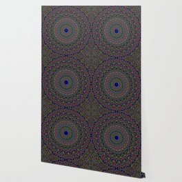 Colorful Sacred Kaleidoscope Mandala Wallpaper