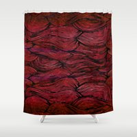 anxiety Shower Curtains featuring Anxiety by NaturePrincess