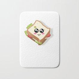 My Favorite Kind Of Witch Cute Sandwich Pun Bath Mat