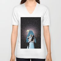 lsd V-neck T-shirts featuring LSD by Mrs Araneae