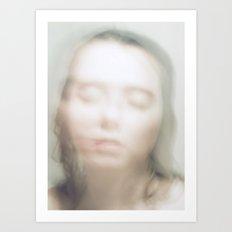 Her Soul, Emerging Art Print