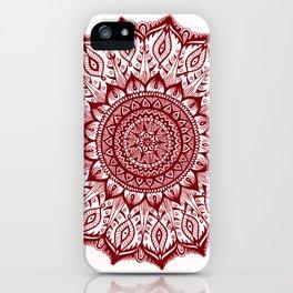Mistletoe-Garnet iPhone Case
