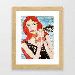 Fish Whisper Framed Art Print