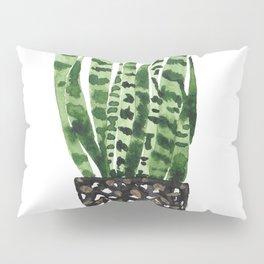 Snake Plant Pillow Sham