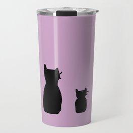 It's a cute Caturday ! Travel Mug