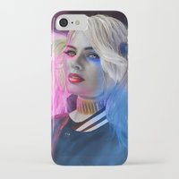 harley quinn iPhone & iPod Cases featuring Harley Quinn by DigitalCrow