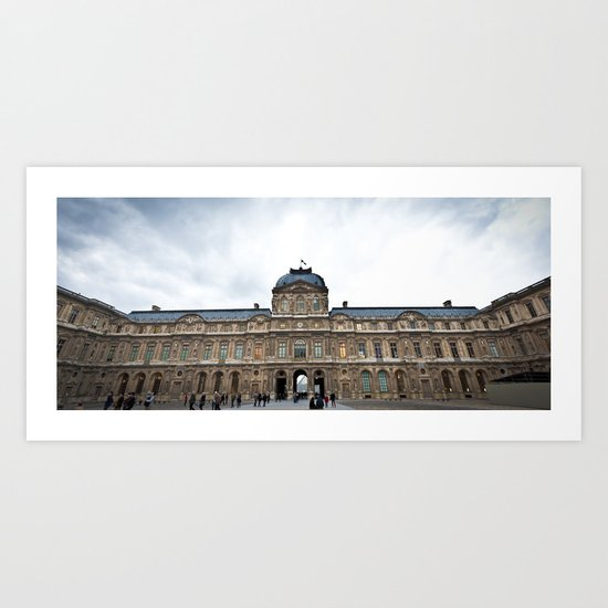 The Louvre Art Print