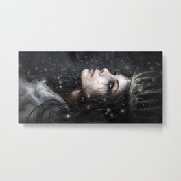 In the Dark of Winter Metal Print