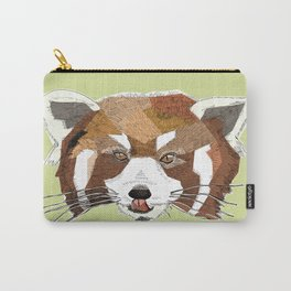 Red Panda Head Carry-All Pouch