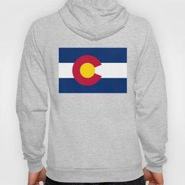 Colorado flag - High Quality image Hoody