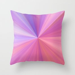 Gravity in Pink and Purple Throw Pillow