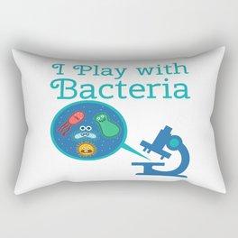 Funny Biology Meme Teacher Student Microskop Gift Rectangular Pillow
