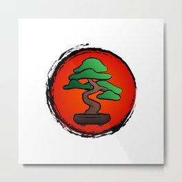 Bonsai Tree - Japan Metal Print