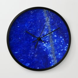 Lapis Lazuli Wall Clock