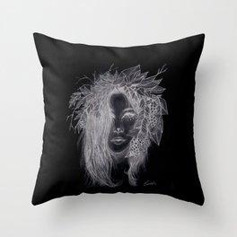 Dark Brigid  Throw Pillow