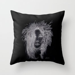 Dark Brigid  Throw Pillow
