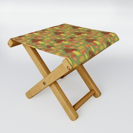 Mushroom Print in 3D Folding Stool