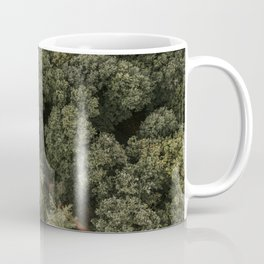 Dutch forest from above | Colourful Travel Photography | Veluwe, Holland (The Netherlands) Coffee Mug