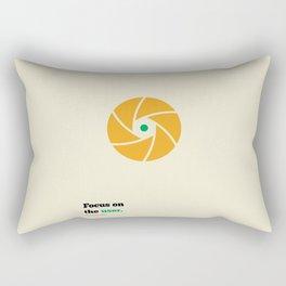 Lab No. 4 - Focus On The User Adam Smith Inspirational Quotes Poster Rectangular Pillow