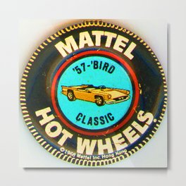 Hot Wheels '57 Bird Classic Metal Print