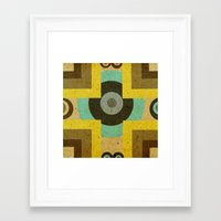 antique Framed Art Prints featuring antique by simay