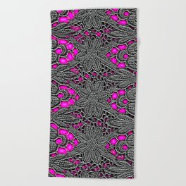 Electro Lace Beach Towel