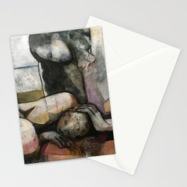 closely i will hold you Stationery Cards