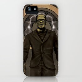 Frankenstein Nouveau iPhone Case