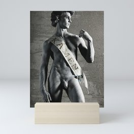 David's Pride Mini Art Print