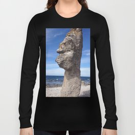 SHAPE OF A FACE I SEA Long Sleeve T-shirt