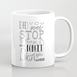 Forget To Start Coffee Mug
