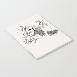 Pomegranate (BW) Notebook