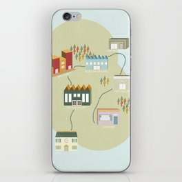City Travels iPhone Skin