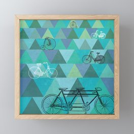 Tour de'Triangle Framed Mini Art Print