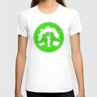 magic the gathering T-shirts featuring Magic the Gathering, Neon Green Mana by Thorn Blackstar