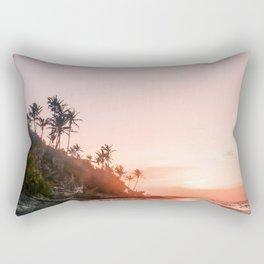 Elbow Beach Sunrise Rectangular Pillow