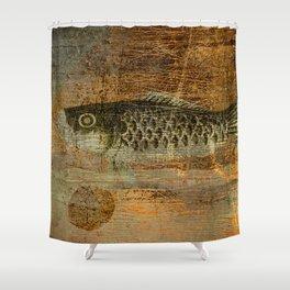 鯉 幟 (The Koinobori) Shower Curtain