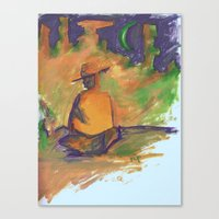 western Canvas Prints featuring Western by ColorMeRed
