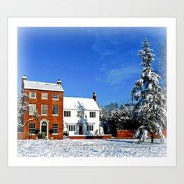 Wondrous Winter Art Print