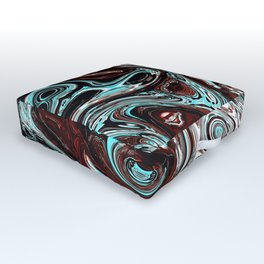 pouring emotions Outdoor Floor Cushion