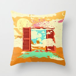 EXIT DREAM Throw Pillow