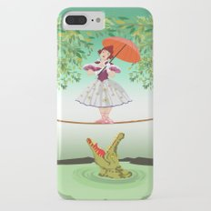Halloween the girl with the crocodile iPhone 4 4s 5 5s 5c, ipod, ipad, pillow case and tshirt Slim Case iPhone 7 Plus