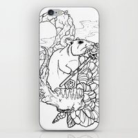 rat iPhone & iPod Skins featuring Rat by Ruff Worlock