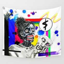 Corporate me Wall Tapestry