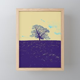 Lone Tree Framed Mini Art Print
