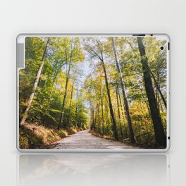 Forest Road - Muir Valley, Kentucky Laptop & iPad Skin