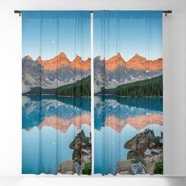 Moraine Lake Sunrise Banff National Park Canadian Rockies Canada Mountains Landscape Blackout Curtain