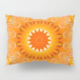 Sunny Mandala Design Pillow Sham