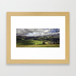 The Hope Valley Derbyshire Framed Art Print